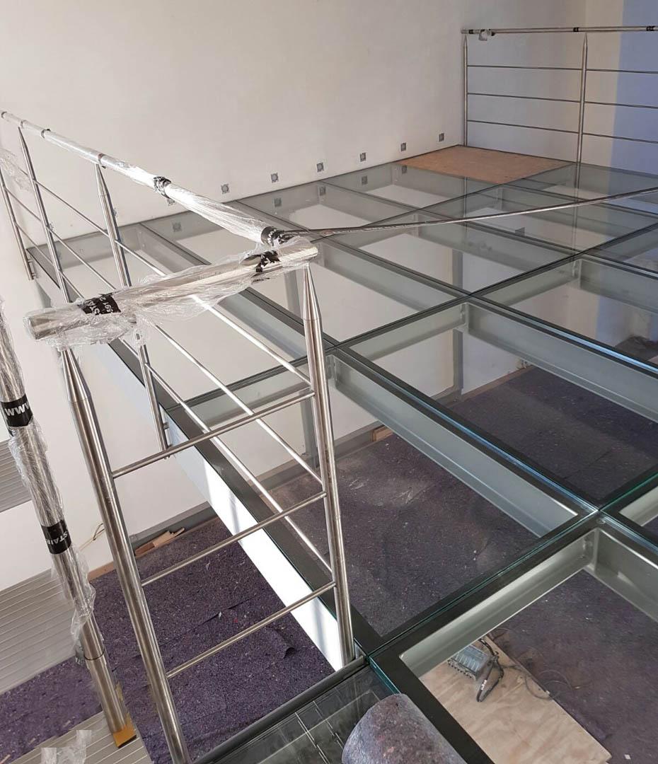 trap aluminium glas 05