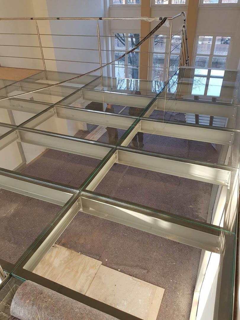 trap aluminium glas 02